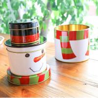 【聖誕收納袋系列】聖誕糖果罐,聖誕公仔糖果罐,禮物罐袋,裝禮物或寶貝配件,可愛立體公仔聖誕禮物袋/生日禮袋☆